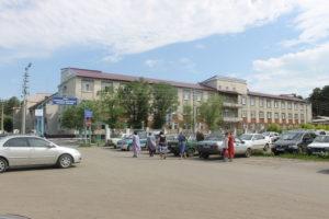 """Вход на территорию КГБУЗ """"Павловская ЦРБ"""""""